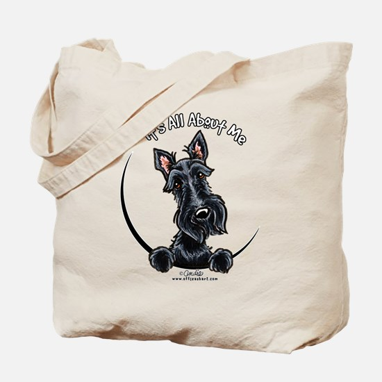 Black Scottie IAAM Tote Bag
