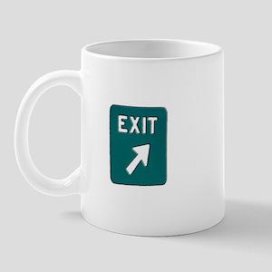 New Jersey Turnpike - Exit Si Mug
