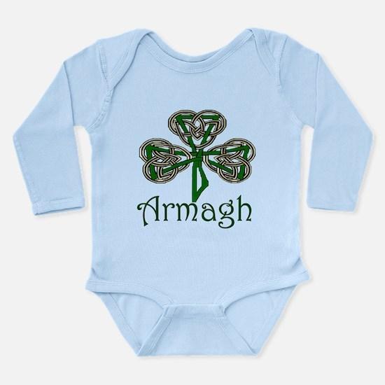 Armagh Shamrock Long Sleeve Infant Bodysuit