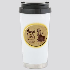 Jerry's Pit Bar-B-Q Stainless Steel Travel Mug