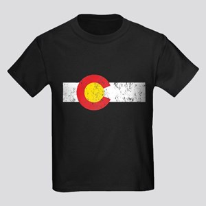Colorado Vintage Kids Dark T-Shirt