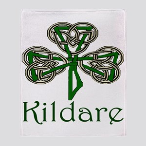 Kildare Shamrock Throw Blanket
