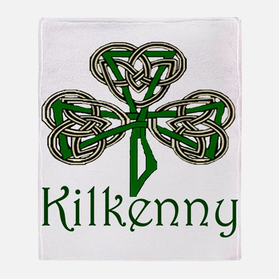 Kilkenny Shamrock Throw Blanket