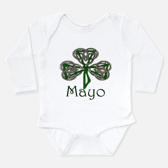 Mayo Shamrock Long Sleeve Infant Bodysuit