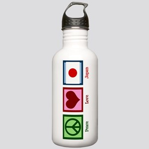 Peace Love Japan Stainless Water Bottle 1.0L