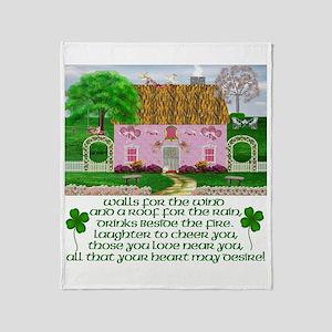 Irish Marriage Blessing Throw Blanket