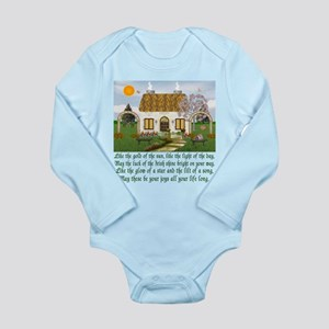 Traditional Irish Blessing Long Sleeve Infant Body