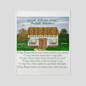 House Blessing (Brigid) Throw Blanket