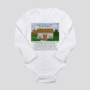 House Blessing (Brigid) Long Sleeve Infant Bodysui