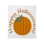 Happy Halloween! Throw Blanket