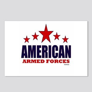 American Armed Forces Postcards (Package of 8)