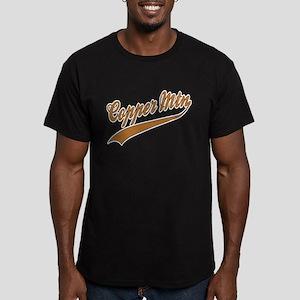 Copper Mountain Baseball Men's Fitted T-Shirt (dar