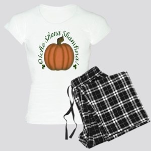 Gaelic Greetings Pumpkin Women's Light Pajamas
