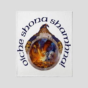 Gaelic Crystal Ball Throw Blanket