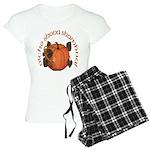 Gaelic Harvest Pumpkin Women's Light Pajamas