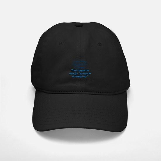 Someone Screwed Up Baseball Hat