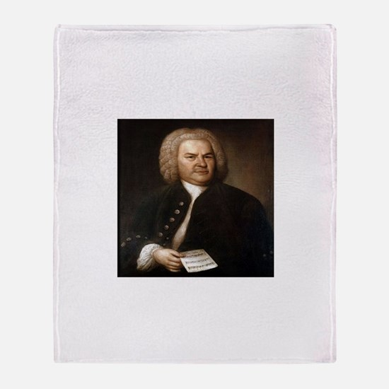 bach gifts t-shirts Throw Blanket