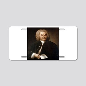 bach gifts t-shirts Aluminum License Plate