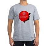 Japan Earthquake Relief Haiku Men's Fitted T-Shirt