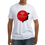Japan Earthquake Relief Haiku Fitted T-Shirt