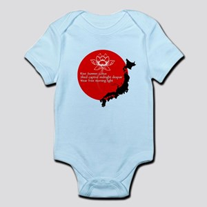 Japan Earthquake Relief Haiku Infant Bodysuit
