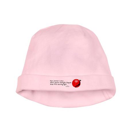Japan Earthquake Relief Haiku baby hat