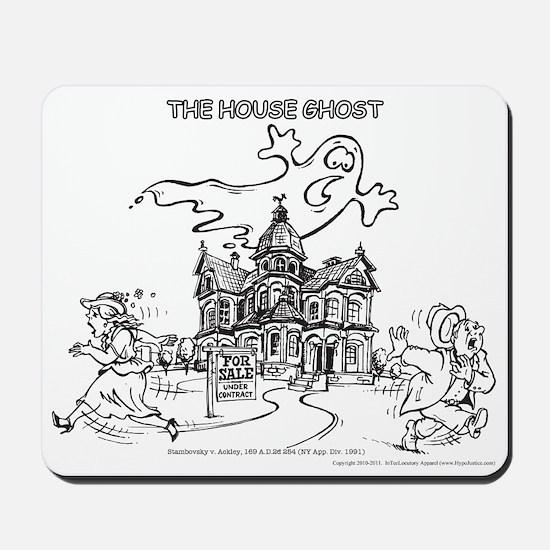The Haunted House Mousepad