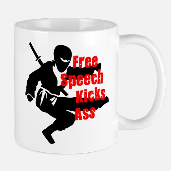 Unique Fight censorship Mug