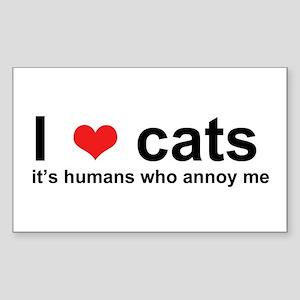 ILoveCats Sticker
