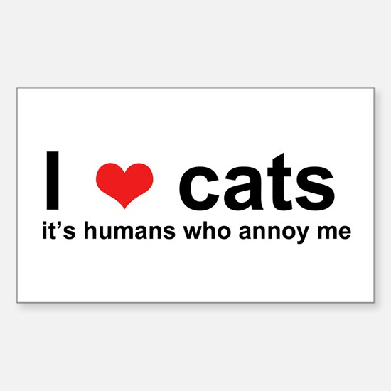ILoveCats Stickers