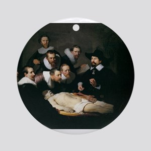 Anatomy Lecture of Dr Nicolae Ornament (Round)