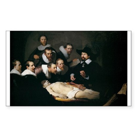 Anatomy Lecture of Dr Nicolae Sticker (Rectangle)