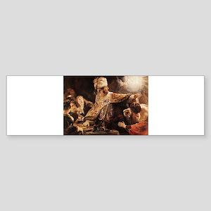 Belshazzar's Feast Sticker (Bumper)