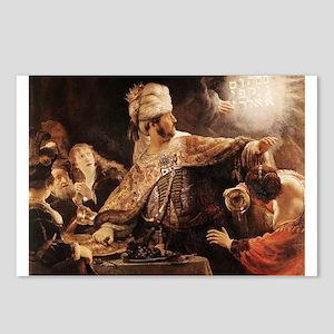 Belshazzar's Feast Postcards (Package of 8)