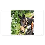 Mule Sticker (Rectangle 10 pk)