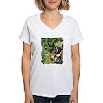 Mule Women's V-Neck T-Shirt