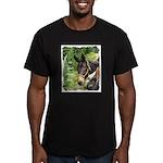 Mule Men's Fitted T-Shirt (dark)