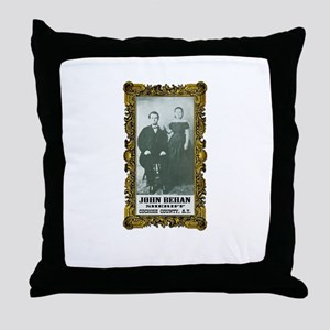 John Behan Sheriff Throw Pillow