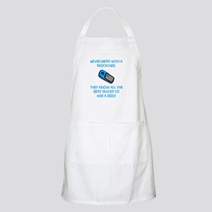 Don't Mess With A Geocacher! Apron