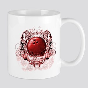 Bowling Mom (Red) Mug