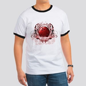 Bowling Mom (Red) Ringer T