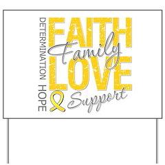 COPD Faith Love Yard Sign