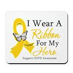 COPD Ribbon Hero Mousepad