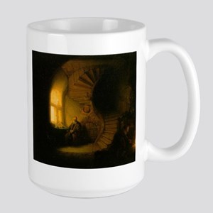 Philosopher in Meditation Large Mug