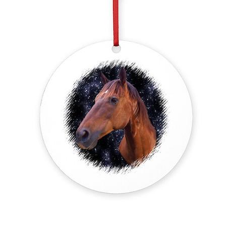Horse Stars Ornament (Round)