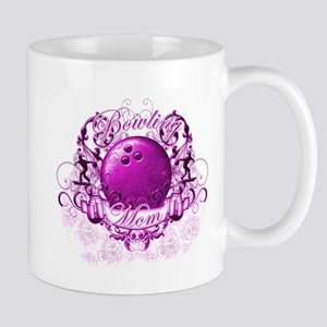 Bowling Mom (Pink) Mug