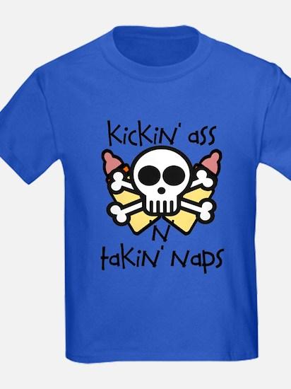 KICKIN' ASS AND TAKIN' NAPS - T
