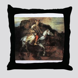 The Polish Rider Throw Pillow