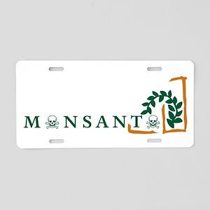 Monsanto License Plate