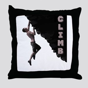 Climb Throw Pillow